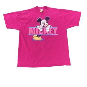 Other - Vintage Mickey Mouse Graphic T-Shirt